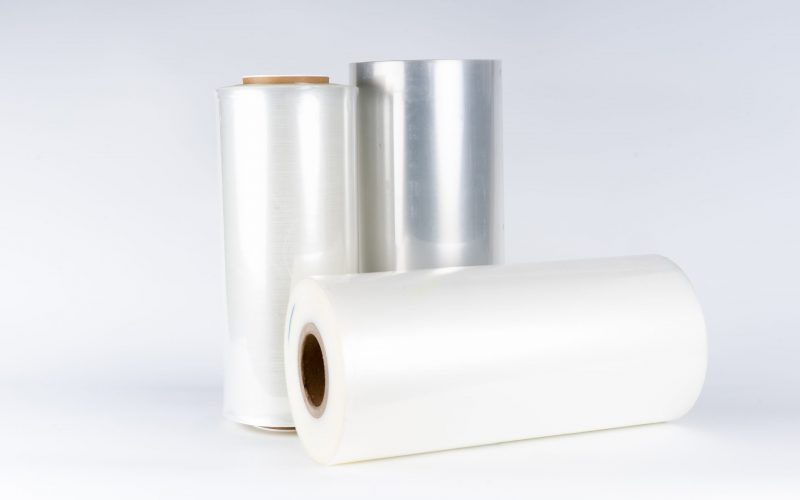 The,Plastic,Roll,For,Wrap,And,Seal,Food,In,The
